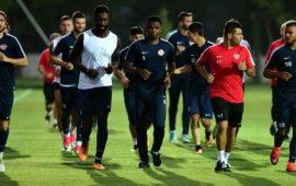Beşiktaş maçının hazırlıkları başladı