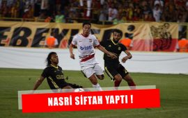 Samir Nasri siftah yaptı .. İlk maç istatistikleri