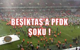 Beşiktaş'a, Antalyaspor maçı öncesi PFDK şoku !