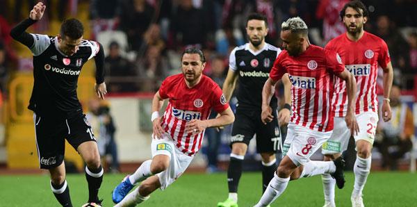 Antalyaspor ile Beşiktaş 43.randevuda