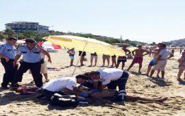 Antalya'da serinlemek için denize giren turist boğuldu
