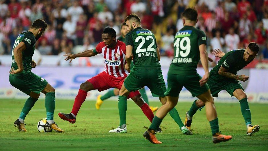 Antalyaspor – Akhisar Belediyespor : 2-2