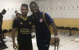 Malatyasporlu oyuncudan Eto'o paylaşımı!