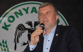 Konyaspor başkanına FETÖ gözaltısı