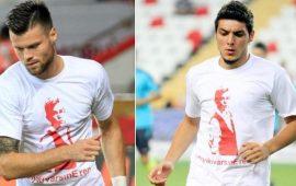Antalyaspor'dan anlamlı tişört! Unutmadılar!