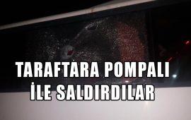 Antalyaspor taraftarına pompalı tüfekle saldırdılar