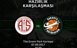 Antalyaspor'un rakibi Sakarya Büyükşehir