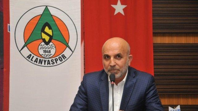 """Alanyaspor Başkanı Çavuşoğlu """"Alanyaspor'u daha iyi yerlere getireceğiz"""""""