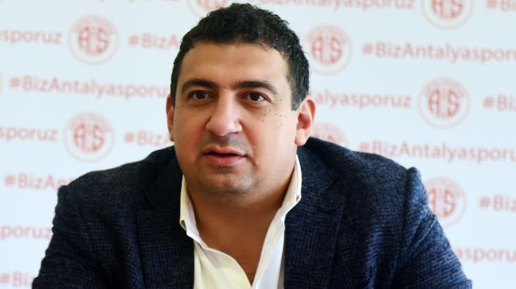 Ali Şafak Öztürk: Takdir Antalyaspor camiasının…