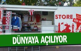 Antalyaspor mağazaları dünyaya açılıyor