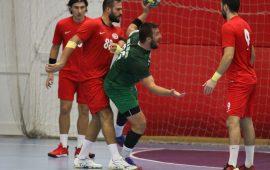 Antalyaspor Hentbol Takımı, hakemleri geçemedi