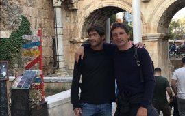 Teknik Direktör Leonardo, Antalya gezisinde