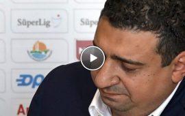 Ali Şafak Öztürk'ün açıklamasının VİDEOSU