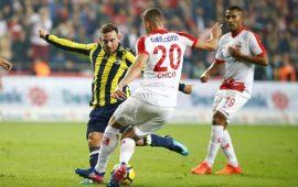 Antalyaspor'un Fenerbahçe karşısında galibiyet serisi sona erdi