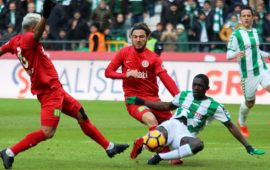 Antalyaspor, Konyaspor ile 38. randevuda