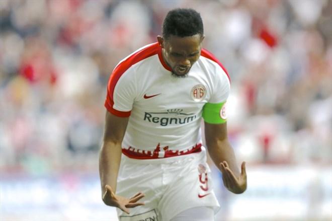 Samuel Eto'o'nun Antalyaspor'dan ayrılacağı iddia edildi