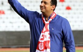 """Ali Şafak Öztürk'ten """"Antalyaspor'un Doğum Günü"""" kutlaması"""