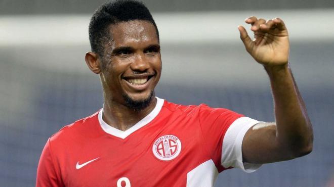 Brezilya ekibi Samuel Eto'o transferinden vazgeçti. İşte o açıklama !