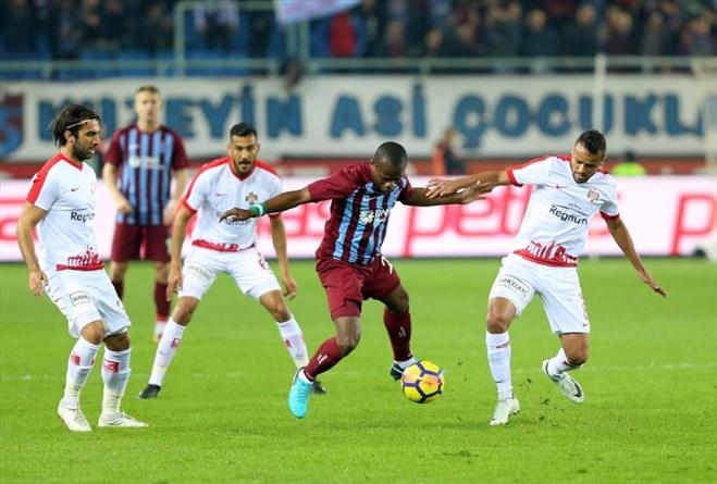 Trabzonspor – Antalyaspor : 3-0
