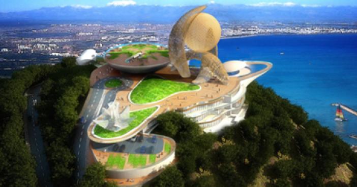 Antalya'nın yeni simgesi ihaleye çıkıyor