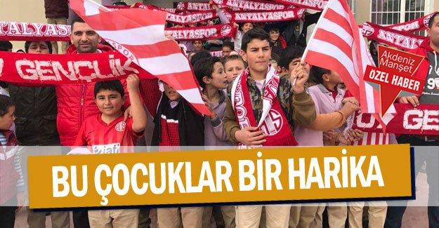 Bu çocuklar harika .. Antalyaspor adına güzel proje