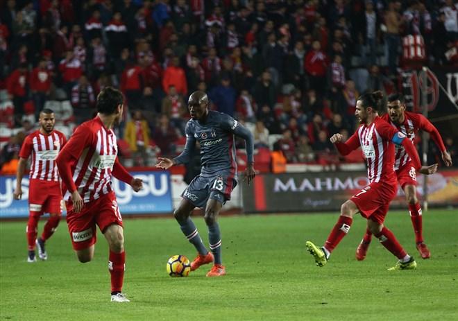 Antalyaspor – Beşiktaş : 1-2