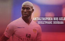 TRANSFER-  Souleymane Doukara, Antalyaspor'da