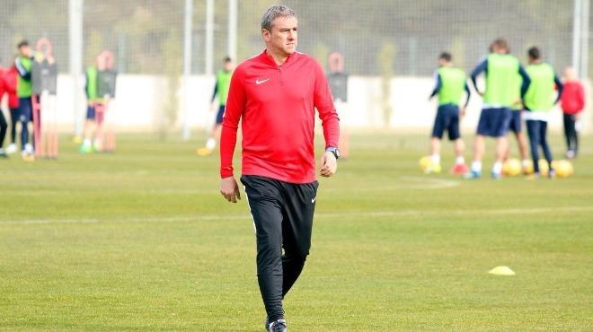 Hamzaoğlu, Antalyaspor'un bu sezonki hedefini açıkladı