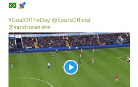 Premier Lig'den Sandro paylaşımı
