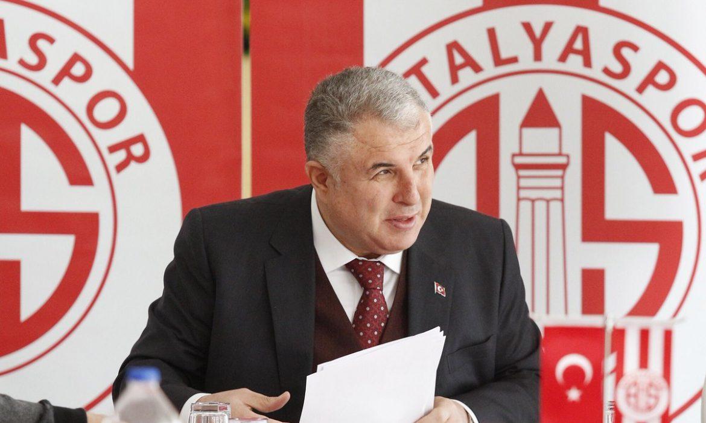 Antalyaspor'da istifa sesleri!