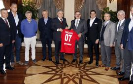 Antalyaspor'dan Vali Münir Karaloğlu'na ziyaret