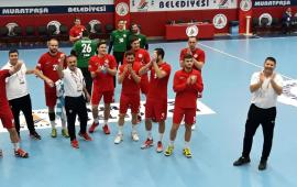 Antalyaspor Hentbol şaşırtmaya devam ediyor