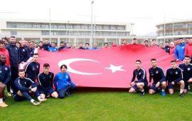 Antalyaspor'dan tüm şehitler için büyük destek!