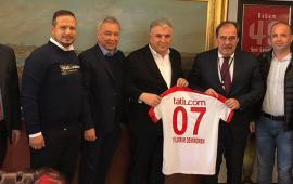 Antalyaspor'dan TFF'ye ziyaret