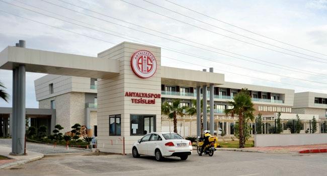 Antalyaspor'da tesisler açılıyor