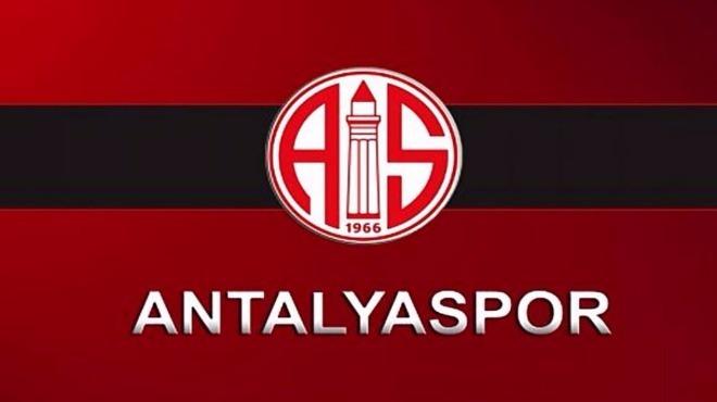 Antalyaspor'da 1 futbolcuda koronavirüs çıktı