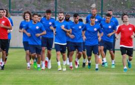 Antalyaspor'un Erzurum kampı başladı
