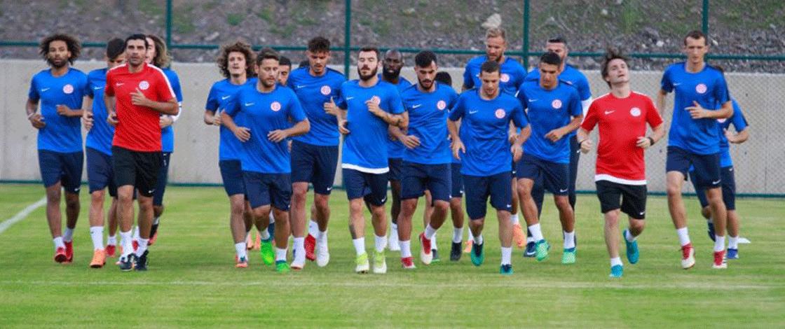 İşte Antalyaspor'un hazırlık maçı programı!