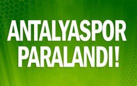 Antalyaspor paralandı!