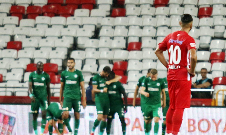 Antalyaspor – Konyaspor maç sonucu : 3-3