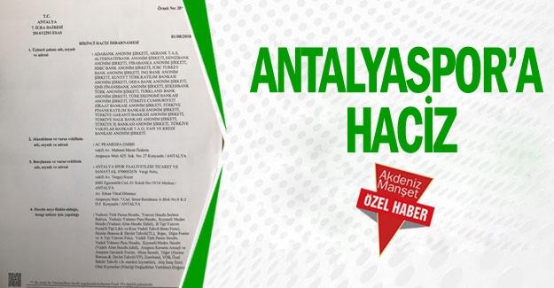Antalyaspor'a haciz