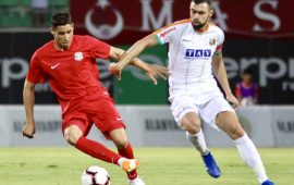 Antalyaspor hazırlık maçında Alanyaspor ile berabere kaldı