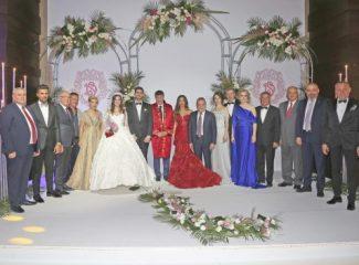 Antalyaspor'un kurucularından Selçuk Yalçın'ın torunu, Ali Yılmaz'ın oğlu Salih Selçuk Yılmaz dünya evine girdi