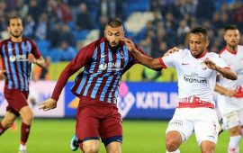 Antalyaspor ile Trabzonspor 45. randevuda