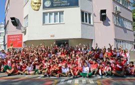 Antalyaspor forması, okul forması oluyor