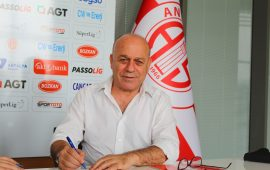 Antalyaspor'da 2. Sedat Karabük dönemi resmen başladı