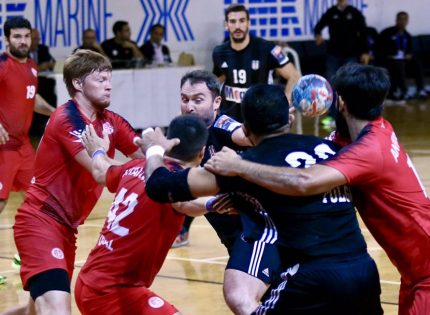 Antalyaspor, hentbolda Beşiktaş'a kafa tuttu