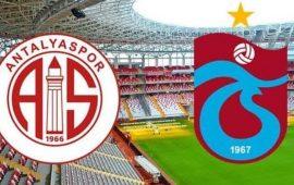 CANLI    Antalyaspor – Trabzonspor