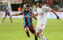 Antalyaspor, Trabzonspor maçında zirve yaptı