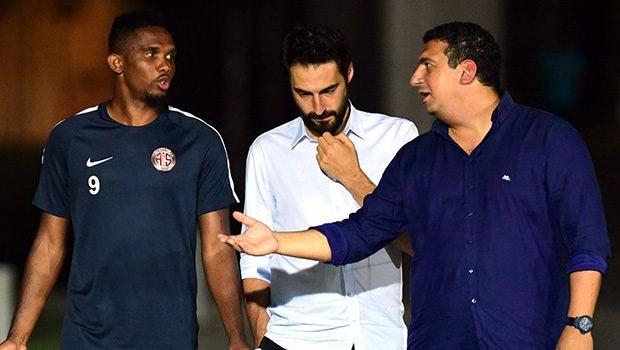 Ali Şafak Öztürk'ten Eto'o'ya eleştiri: Ayrılışı doğru şekilde olmadı